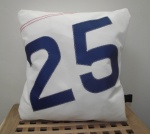 Personalised initials or number cushions