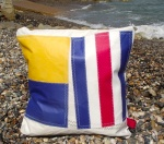 Personalised Sailcloth International Signal Flag cushions