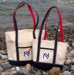 Tote Bags in Natural Canvas