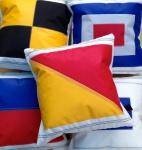 Signal flags cushions