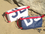 a) Personalised Sailcloth Wash Bags
