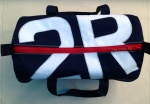 Racing Sail - Navy Canvas kitbags